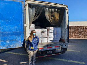 PDI Los Andes recupera camión robado con carnes paraguayas avaluadas en $130 millones