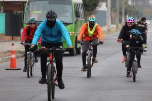 Municipio calerano invita a desarrollar actividad física en forma segura en banda horaria dispuesta por el Mindep
